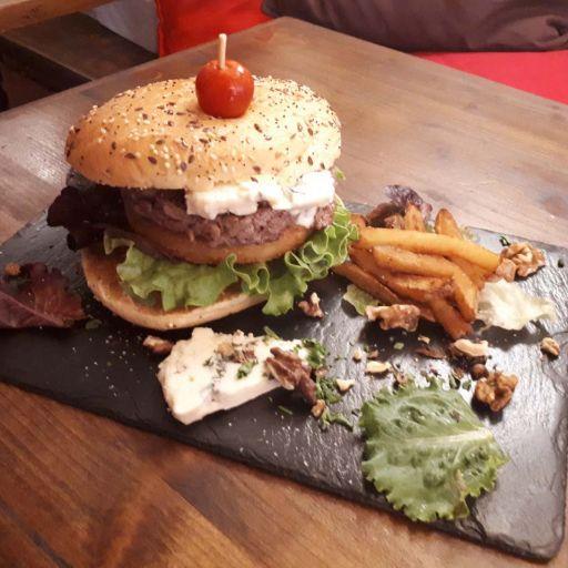 Burger & ratatouille 🍔